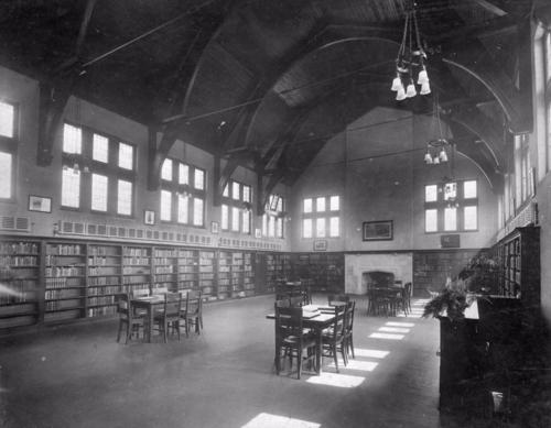 Wychwood Interior Main Floor 1916